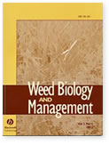 Weed Biology and Management表紙